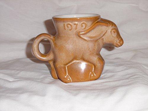 1979 Frankoma Donkey Mug DEM Democrat