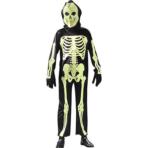 Kids Glow In The Dark Skeleton Costume (Sz:Sm (Kids Glow In Dark Skeleton Costumes)