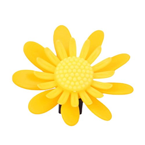 Fabal 2Pcs Car Air Conditioning Sunflower Flower Modeling Car Interior Air Freshener (A) (Conditioning Sunflower)