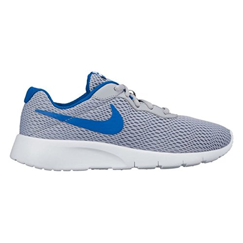 new arrival a31a3 2a2c2 Galleon - NIKE KIDS NIKE TANJUN (GS) WOLF GREY BLUE JAY WHITE SIZE 3.5