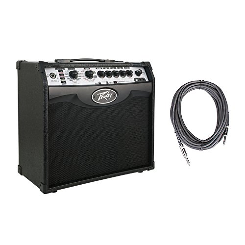 Peavey Vypyr VIP 1 Combo Modeling Instrument 20 Watt Amplifier Amp + 10' Instrument Cable