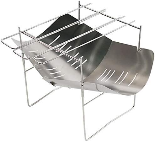 Nobran - Borsa da trasporto portatile pieghevole in acciaio INOX