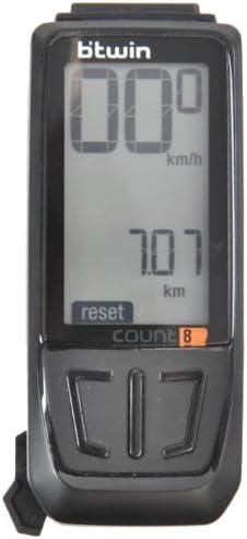 Btwin Count 8 - Ordenador inalámbrico para Bicicleta: Amazon.es ...