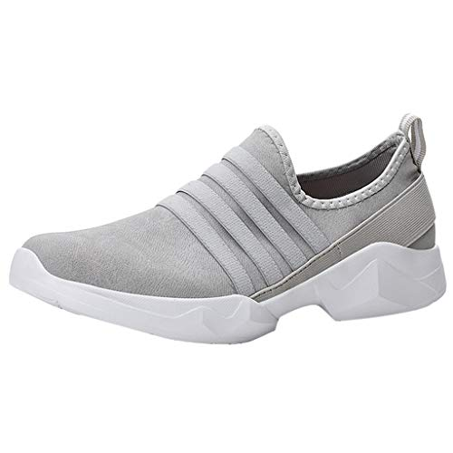 OrchidAmor Fashion Couple Outdoor Suede Casual Sport Shoes Runing Breathable Shoes Sneakers 2019 Summer Soft Comfy Shoes Grey