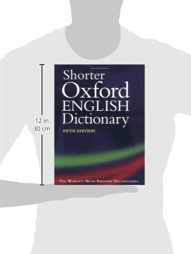 Shorter Oxford English Dictionary: Thumb-indexed edition