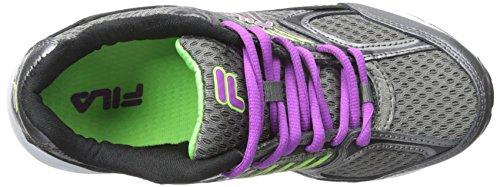 Fila Womens Inspell Running Shoe Dark Silver/Purple Cactus Flower/Green Gecko yO6YxsWfR