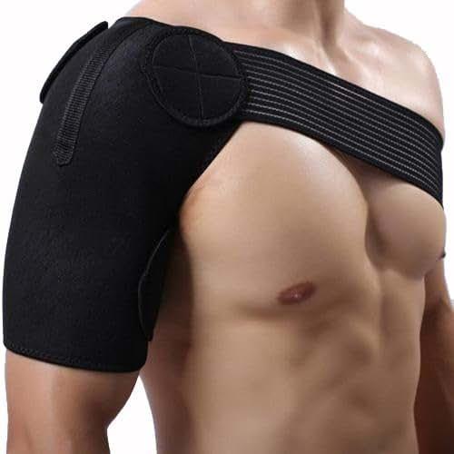 MAYMII Neoprene Brace Dislocation Injury Arthritis Pain Magnetic Shoulder Support Strap Wrap Belt