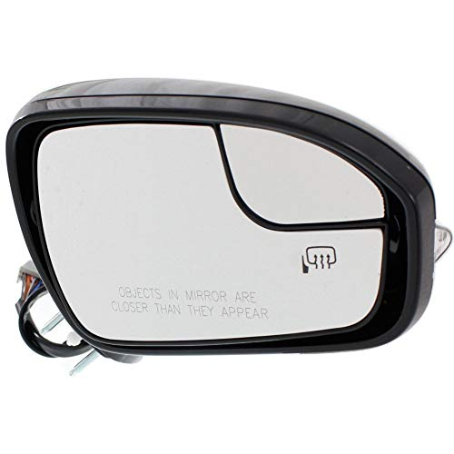 2016 Ford Fusion Mirror - Kool Vue FD05ER-S Mirror for Ford FusSaturn Ion 13-16 Right Side Power Heated W/Blind Spot Glass W/Memory Signal and Puddle Light Paint to match