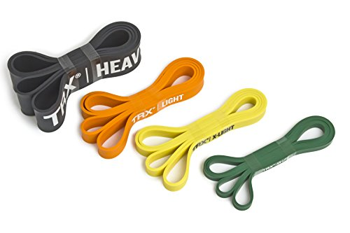 TRX Training Strength Bands, Increase Intensity of Workouts, Medium