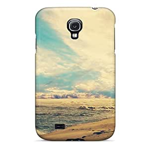 Hot Tpye Beach Sunset Case Cover For Galaxy S4