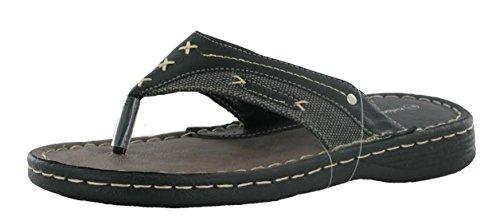Flip Uomo Black Ubershoes Flops Sandali Nero EU 40 5wIwt8