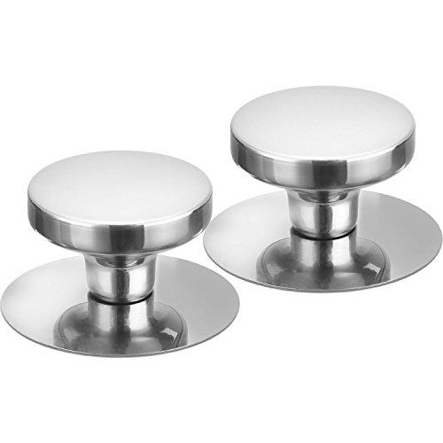 Sumind 2 Set Kitchen Replacement Pot Grip Knob Lid Cover Knobs Universal Pot Lid Handle