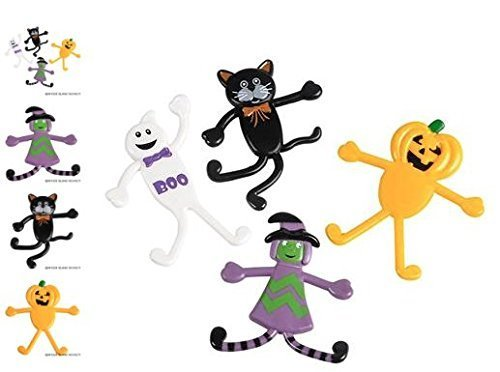 (48) 3-3.5 Halloween Bendables ~AWESOME FAVOR THIS HALLOWEEN SEASON ~ by -