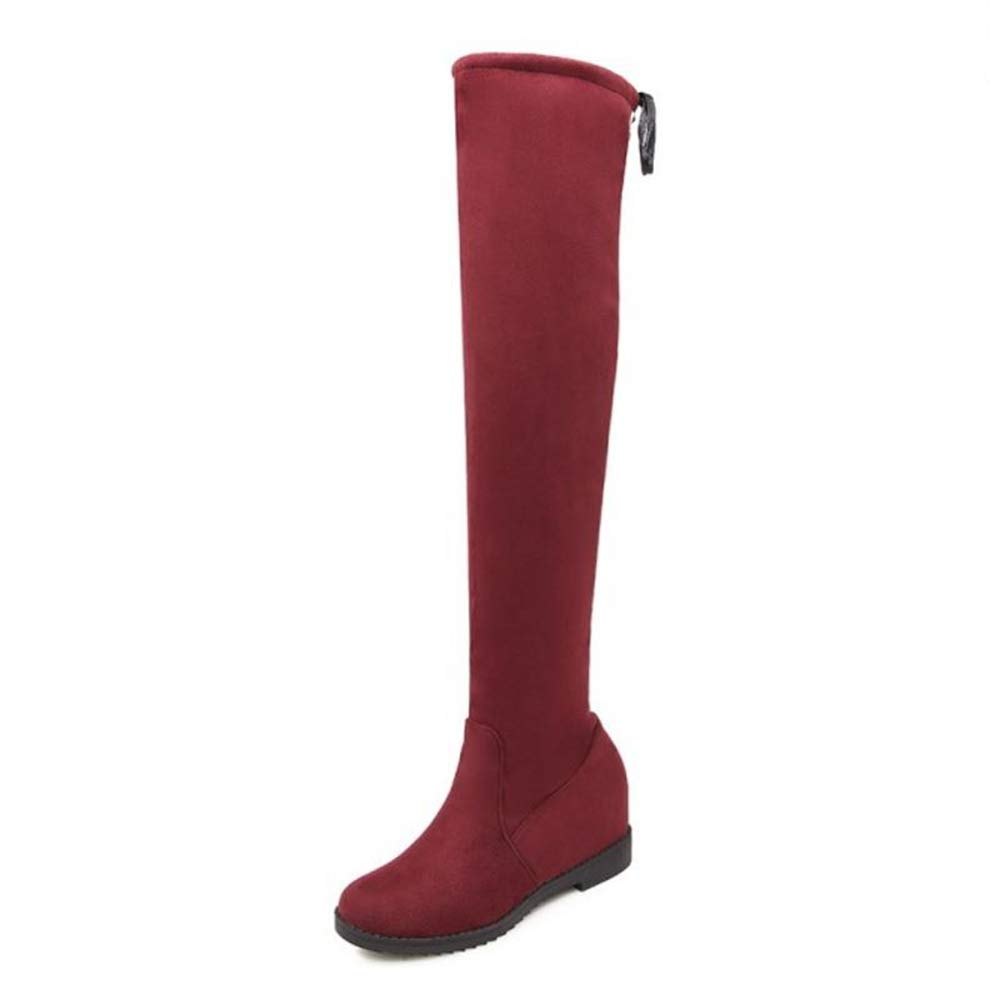 SJJH , Boots , Chelsea Rouge Boots Femme Rouge dc17427 - therethere.space