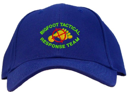 Bigfoot Tactical Response Team Embroidered Baseball Cap - Royal