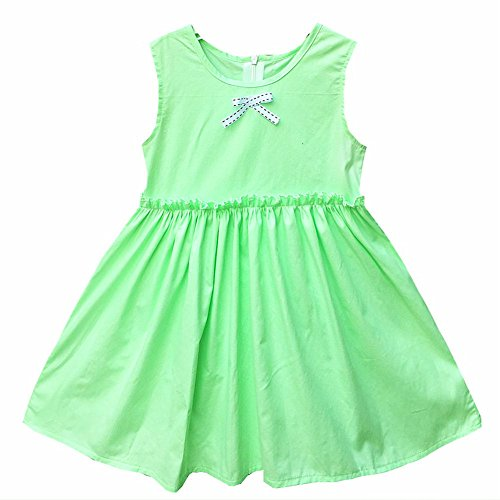 Sunling Girl's Daily Tunic Dresses For Party Summer Cute Casual Solid Dress...