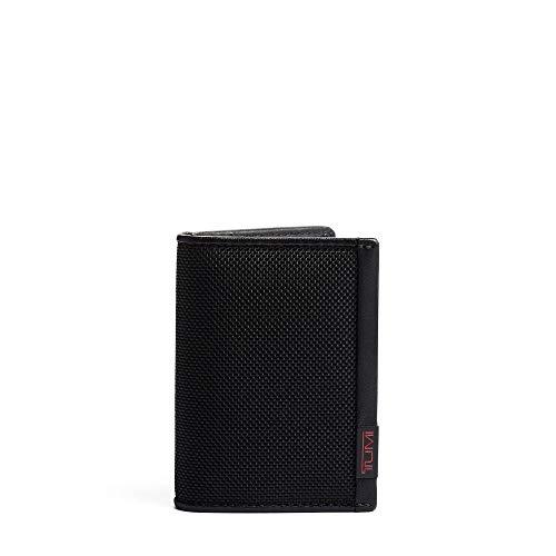 TUMI - Alpha Folding Card Case Wallet with RFID Bocking for Men - Black