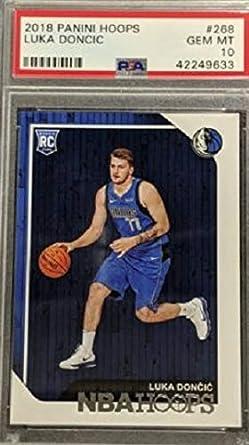 RC Card #280 2018 Panini Prizm Luka Doncic GRADED PSA 10 GEM MINT Dallas Mavericks Basketball Rookie Card