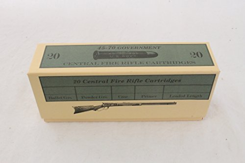 70 Government Box (45-70 Government Ammo Box by Cheyenne Cartridge Boxes)