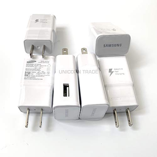 Wholesale Wall Chargers OEM Adaptive Fast Charging 2A Wall Adapter Clone for Samsung Apple LG OnePlus Bulk Lot (50-Packs) from Generic
