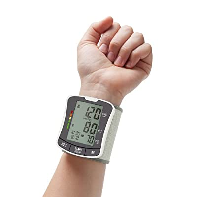 Zigabob Wrist Blood Pressure Monitor..Top Selling FDA-approved Digital BP Monitor - Automatic, Portable Home BP Monitor for control of Blood Pressure and Hypertension