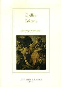 Poèmes : Edition bilingue français-anglais par Percy Bysshe Shelley