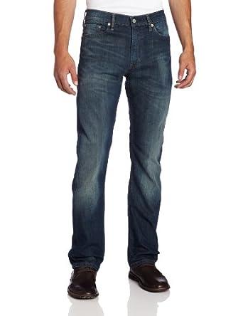Levi's Men's 513 Stretch Slim Straight Jean at Amazon Men's ...