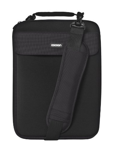 Cocoon CLS358BY Laptop Case, up to 13 inch, 13.8 x 1.1 x 10.6 inch, Black