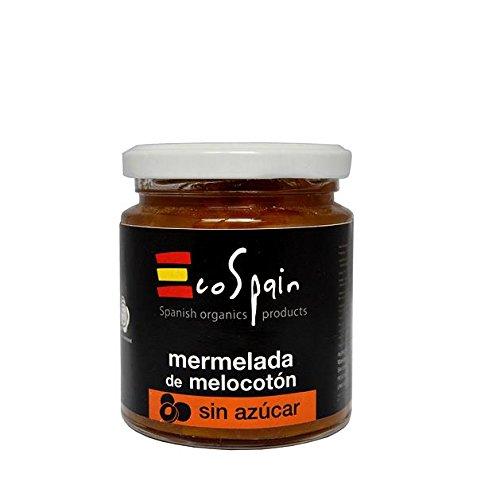 Mermelada de melocotón sin azúcar 275 gr. Sin conservantes ni colorantes. Sin gluten. Producto Gourmet: Amazon.es: Alimentación y bebidas