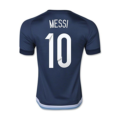 Messi #10 Argentina Away Soccer Jersey 2015 (M)