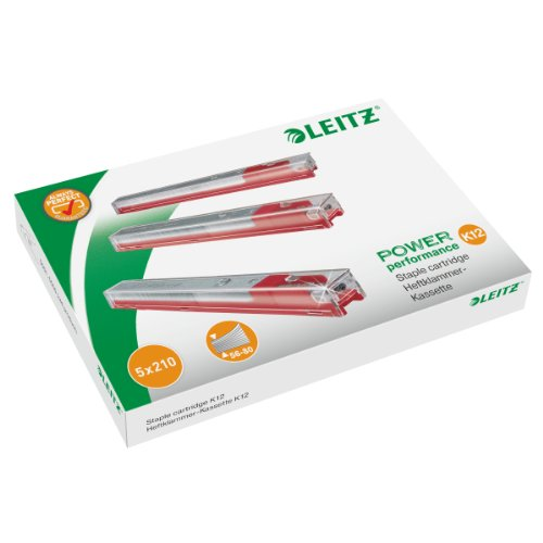 - STAPLER HEAVYDUTY CART 12MM RED 55940000