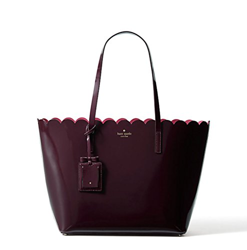 Kate Spade Lily Avenue Patent Carrigan (Mahogany/Radish) by Kate Spade