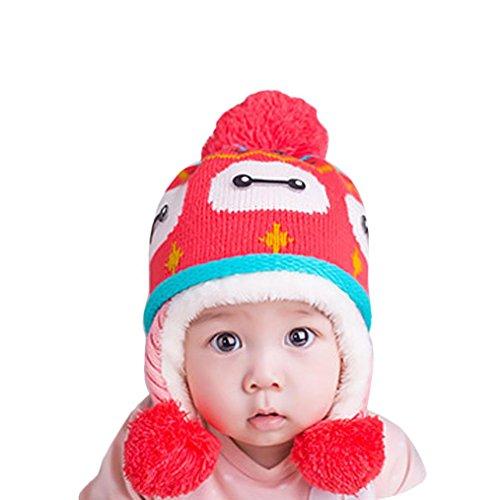 Baby Cute Cartoon Winter Fleece Soft Apron - 9