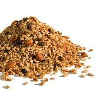 GOLDEN TEMPLE Granola Straw Raspberry, 25 Pound by Golden Temple