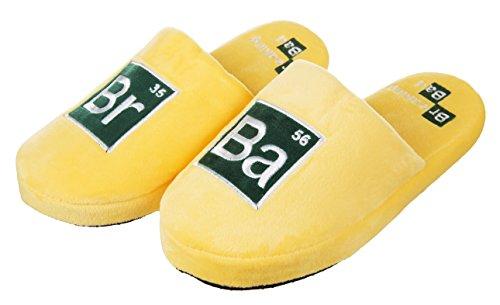 Breaking Bad Labor Pantoffel Hausschuhe Gelb