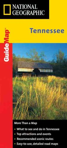 Tennessee GuideMap Laminated (National Geographic GuideMaps)
