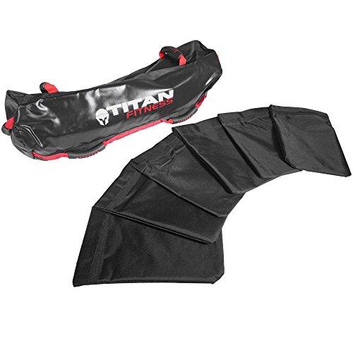 Titan Fitness 80 lb Heavy Duty Workout Weight Sandbag Exercise Training Bag