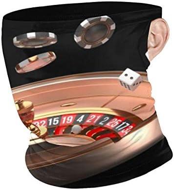 フェイスカバー Uvカット ネックガード 冷感 夏用 日焼け防止 飛沫防止 耳かけタイプ レディース メンズ Poker Game Table