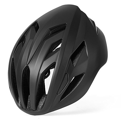 BASE CAMP ACE II Road Bike Helmet for Adult Cycling - Adjustable M L Size 22-24.5 Inches