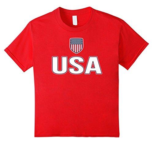 Red Stripes Us Flag - 8