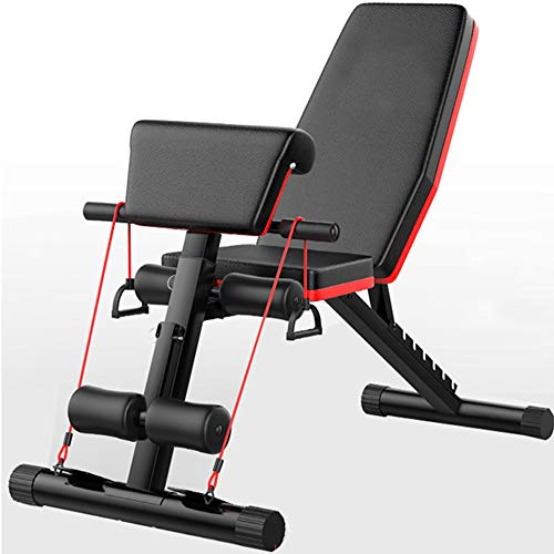 SHSYCER Adjustable Weight Bench 7 Adjustable Angles Weight Benches for Full Body Workout, Foldable Flat/Incline/Decline FID Bench Press for Home Gym