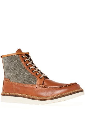 Wolverine Mens Bento Moc Wedge Boots Brown