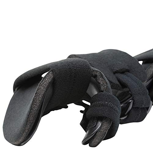 Stroke Hand Splint- Soft Resting Hand Splint for Flexion Contractures, Comfortably Stretch and Rest Hands for Long Term Ease with Functional Hand Splint, an American Heritage Industries(Right, Medium) by American Heritage Industries (Image #2)