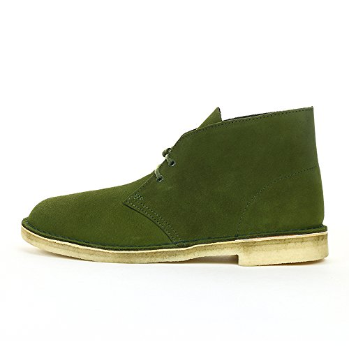 Clarks Desert Boot, Scarpe Stringate Basse Uomo Verde (Leaf Suede)