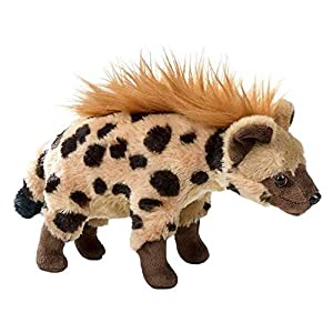 Wildlife Tree 10 Inch Hyena Stuffed Animal Floppy Plush Species Collection