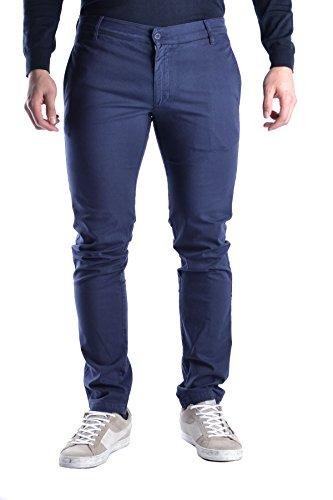 Daniele Alessandrini Homme MCBI086313O Bleu Coton Pantalon