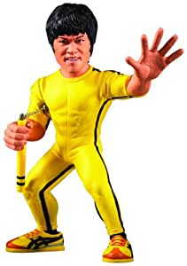 Round 5 JUN111769 - Muñeco de Bruce Lee - Figura Bruce Lee Traje Amarillo (15 cm)