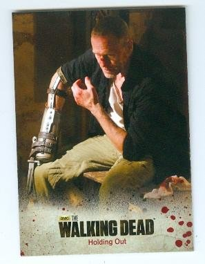 The Walking Dead Trading Card Woodbury Season 3 2014 #24 Merle Dixon Michael Rooker