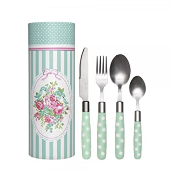 Greengate Besteck greengate besteck set june mint 16 teile in geschenkbox