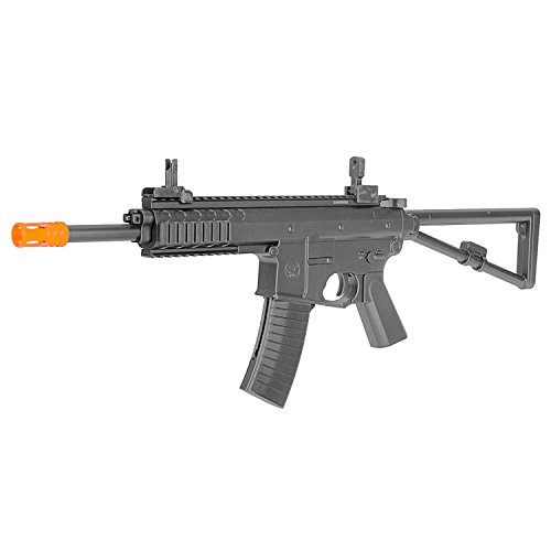 BBTac Airsoft Gun PDW M307 - Powerful Rifle, Spring Loaded Easy to use, Great for Starter Pack Game Play (Best Spring Loaded Airsoft Pistol)